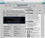 Yahoo! on 9/11 2002