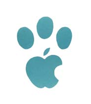 Apple Panther paw