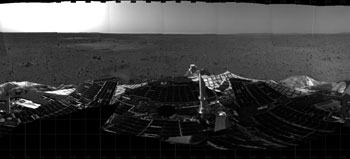 First pictures from Mars Spirit Rover