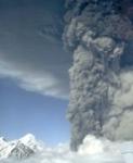 Mt. Spurr erupts