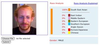 100% SE Asian, Male