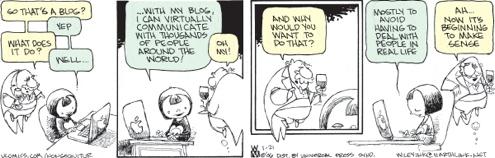 Non Sequiteur on Weblogs