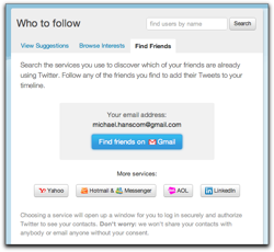 Twitter's Weird Email Search: Not Findable, Except That They Are