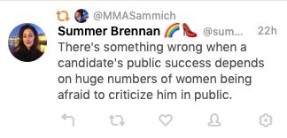 Summer Brennan on Twitter