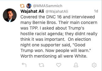 Wajahat Ali on Twitter