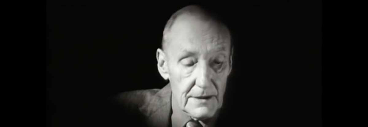 W. S. Burroughs reading A Thanksgiving Prayer