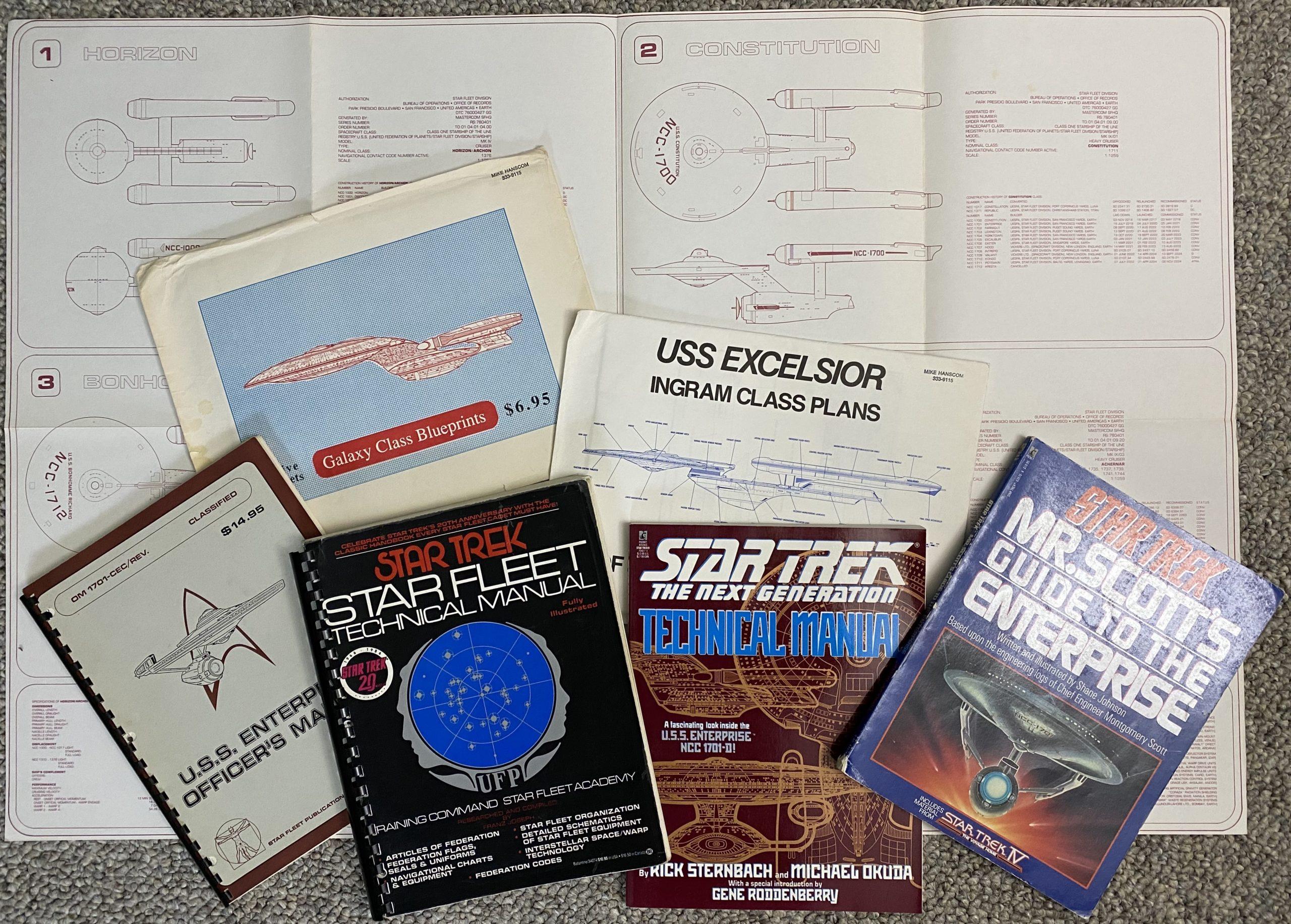 Trek Manuals and Blueprints